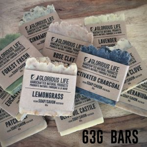 Natural Soap - 63g Bars