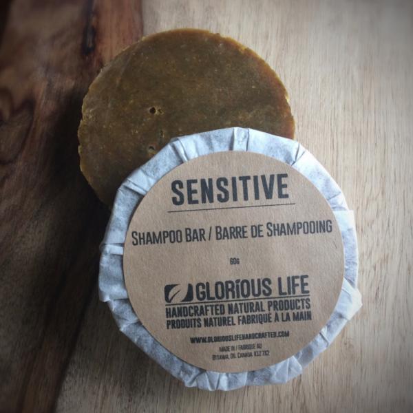Glorious Life Sensitive Shampoo Bar