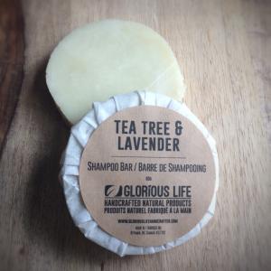 Lavender Tea Tree Shampoo Bar