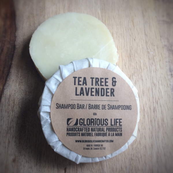 Lavender Tea Tree Shampoo Bar