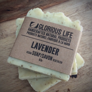 63g Lavender Soap Bar