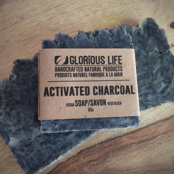 63g Glorious Life Charcoal Soap