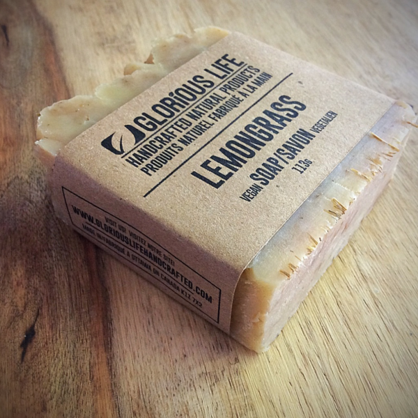 Glorious Life Lemongrass Soap