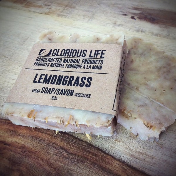 Lemongrass Soap Bar by Glorious Life