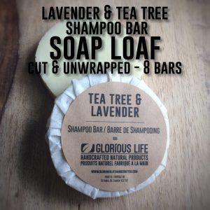 lavender tea tree shampoo loaf