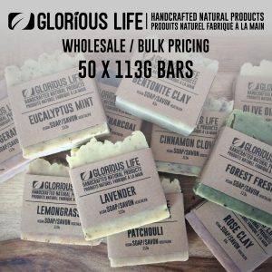Bulk Order - Soap Bars - Wholesale Pricing - 50 x 113g Soap Bars - Handcrafted Natural Ingredient Soap