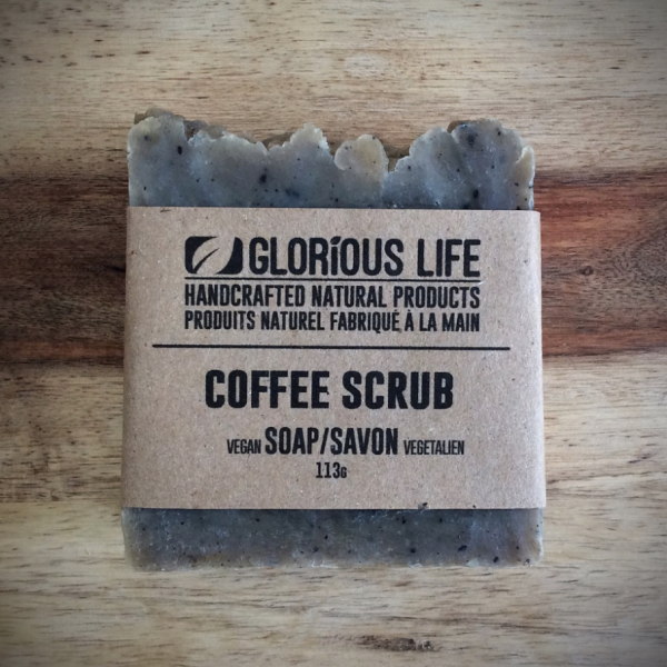 Moisturizing Coffee Scrub Soap Bar - 113g