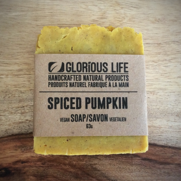 Glorious Life Spiced Pumpkin Soap - 63g