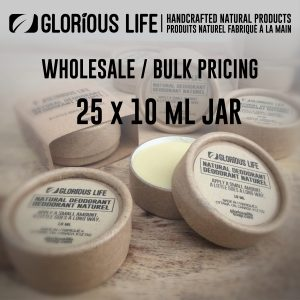 wholesale natural deodorant