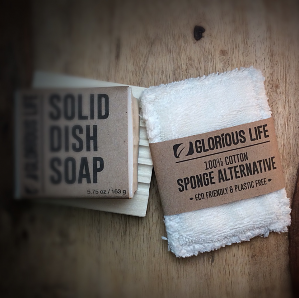 Glorious Life Cotton Sponge Sponge Alternative