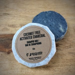 COCONUT FREE ACTIVATED CHARCOAL SHAMPOO BAR
